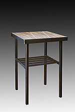 Birch Side Table by Janna Ugone and Justin Thomas (Metal Side Table)