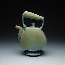Ceramic Tea Pot by Frank Saliani (Ceramic Teapot)