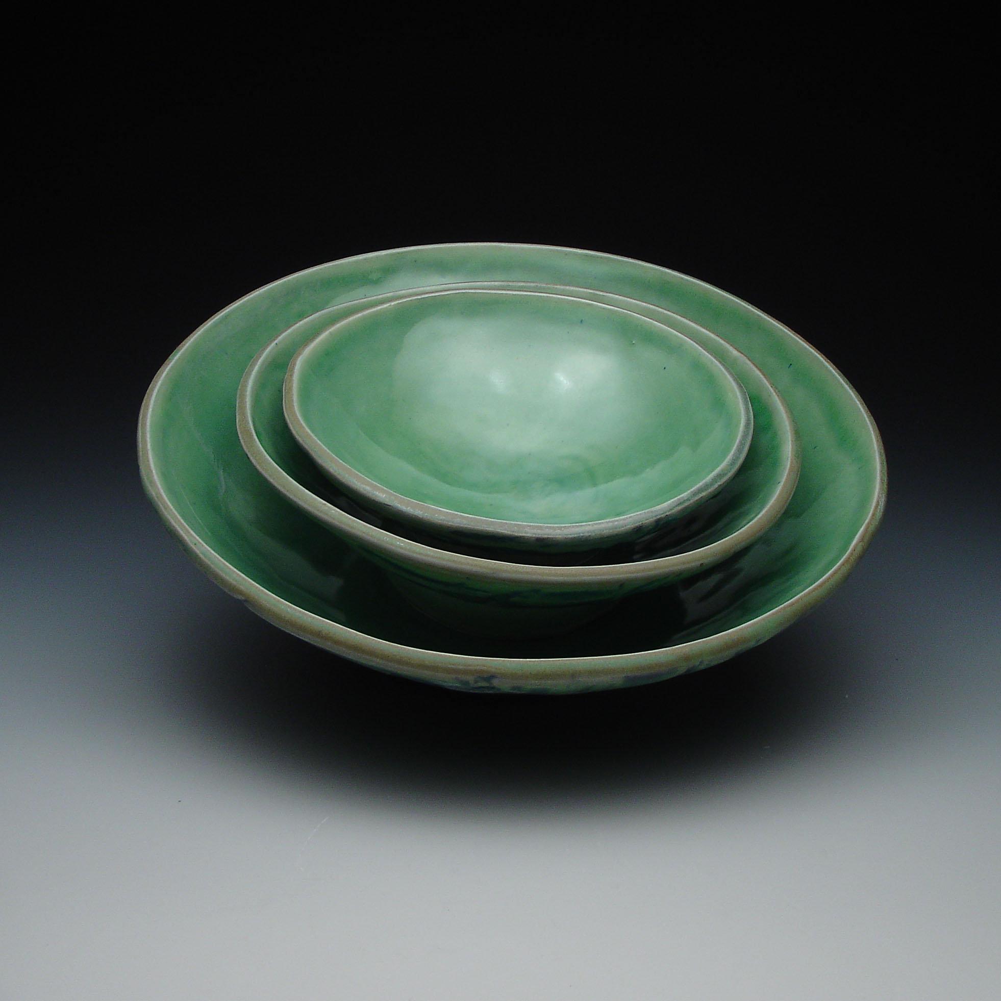 Ceramic Nesting Bowls by Frank Saliani (Ceramic Bowls) | Artful Home