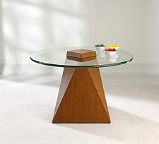 Mystic Facet Table by Ken Reinhard (Wood Coffee Table)