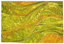 Continuity II by Karen Kamenetzky (Fiber Wall Art)