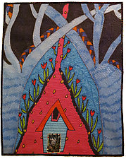 Sweet Home Sweet by Therese May (Fiber Wall Art)
