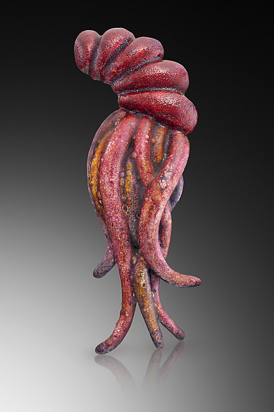 Regal Squid Brooch