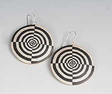 Target Earrings by Louise Fischer Cozzi (Polymer Clay Earrings)