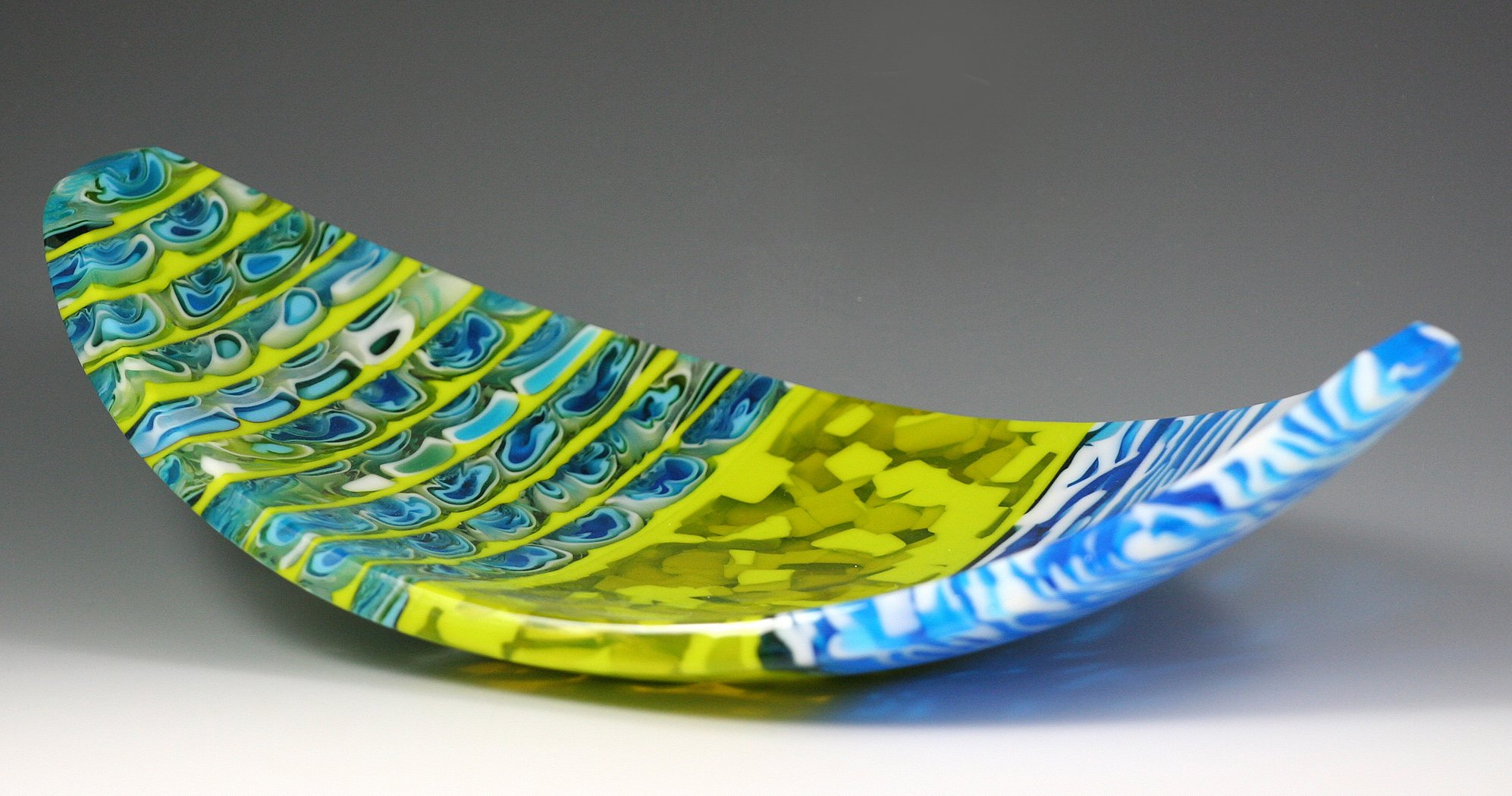 Cabo by Pamela Rice (Art Glass Tray)