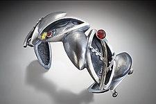 The Harmony Bracelet by Kristen Lee (Silver & Stone Bracelet)