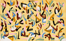 Reflex by Hal Mayforth (Acrylic Painting)