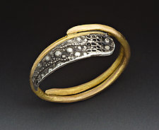 Urchin Ring by Peg Fetter (Gold & Silver Ring)
