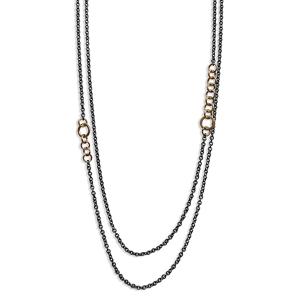 Double Stitch Chain Necklace