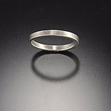 Hammered Band by Ananda Khalsa (Gold Wedding Band)