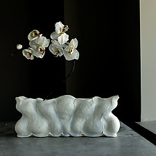 Victorian Flower Brick by Clementine Porcelain (Ceramic Vase)