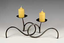 Candle Holder Pair by Rob Caperell (Metal Candleholders)