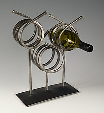 Wine Rack by Rob Caperell (Metal Wine Rack)