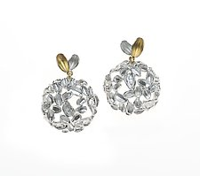 Leslie Earrings by Analya Cespedes (Gold & Silver Earrings)