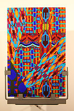 Borealis by Jim Vollmer (Art Glass Wall Sculpture)