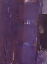 Purple Canon by Sandra Humphries (Monotype Print)