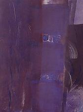 Purple Canon by Sandra Humphries (Monotype Print)
