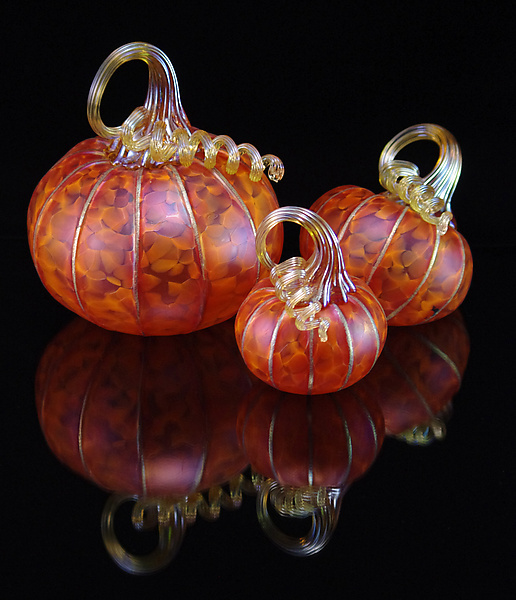 3 Piece Pumpkin Set - Tangelo