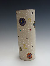 Circle Circle Vase by Vaughan Nelson (Ceramic Vase)