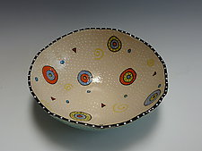 Circle Circle Bio Bowl by Vaughan Nelson (Ceramic Bowl)