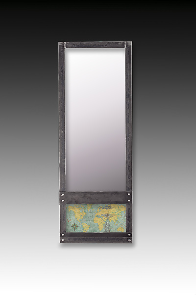 Voyages Steel Wall Mirror