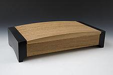 Camber Jewelry Box 2 by Douglas W. Jones and Kim Kulow-Jones (Wood Jewelry Box)
