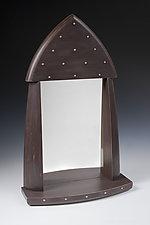 Iberia Mirror by Douglas W. Jones and Kim Kulow-Jones (Wood Mirror)