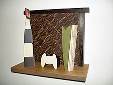 Nichos Trio by Douglas W. Jones and Kim Kulow-Jones (Wood Sculpture)
