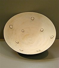 Big Bumpy Bowl by Lori Katz (Ceramic Bowl)