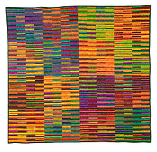 Square Within a Square Within by Kent Williams (Fiber Wall Art)