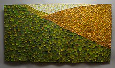 Next Valley by Michael Bauermeister (Wood Wall Sculpture)