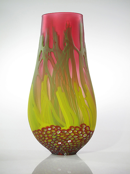 Red Sea Fan Vase