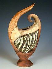Early Sprout by Jan Jacque (Ceramic Sculpture)