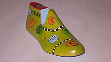 Shoe Form 1 by Jeanine Anderson Guncheon (Wood Sculpture)