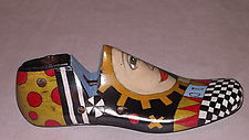 Shoe Form 2 by Jeanine Anderson Guncheon (Wood Sculpture)