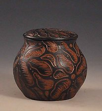 Woodland Jar by Sara Meehan (Ceramic Jar)