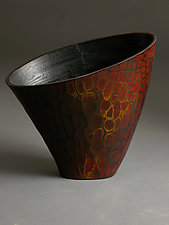Fiery Arc by Michael Bauermeister (Wood Bowl)