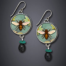 Summer Song by Dawn Estrin (Silver Earrings)