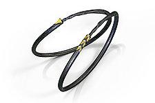 Leaf Twig Bracelets by Christine MacKellar (Gold & Silver Bracelet)