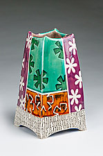 This is a True Story by Connie Norman (Ceramic Vessel)
