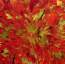 Transition into Fall by Cassandra Tondro (Acrylic Painting)