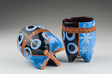 Hugs and Kisses by Connie Norman (Ceramic Mugs)