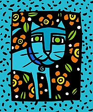 'C' is for Cat by Anne Leuck  (Giclée Print)