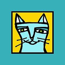 Finicky Feline by Anne Leuck  (Giclée Print)