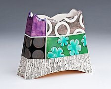 One Day When I Grow Up by Connie Norman (Ceramic Vase)