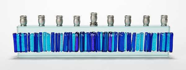 Menorah Icicle Collection - Blue Skyline