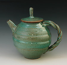 Teapot 54 by Ron Mello (Ceramic Teapot)