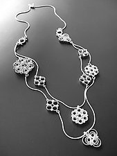 Cascade Necklace by Jennifer Chin (Silver Necklace)