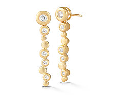 Cono Meridian Earring by Dana Melnick (Gold & Stone Earrings)