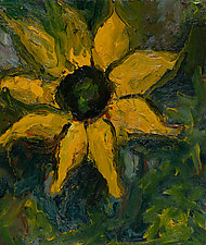 Sunflower 11o35 by Jonathan Herbert (Oil Painting)